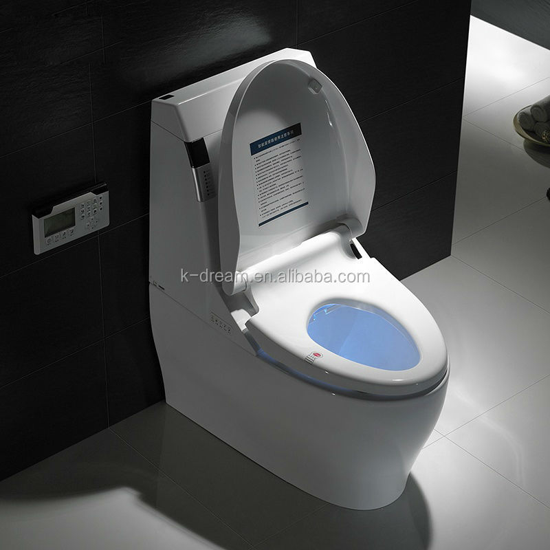 Automatic bidet toilet ceramic japanese wc with spray kd t002a buy japanese wc automatic - Automatic bidet toilet seat ...