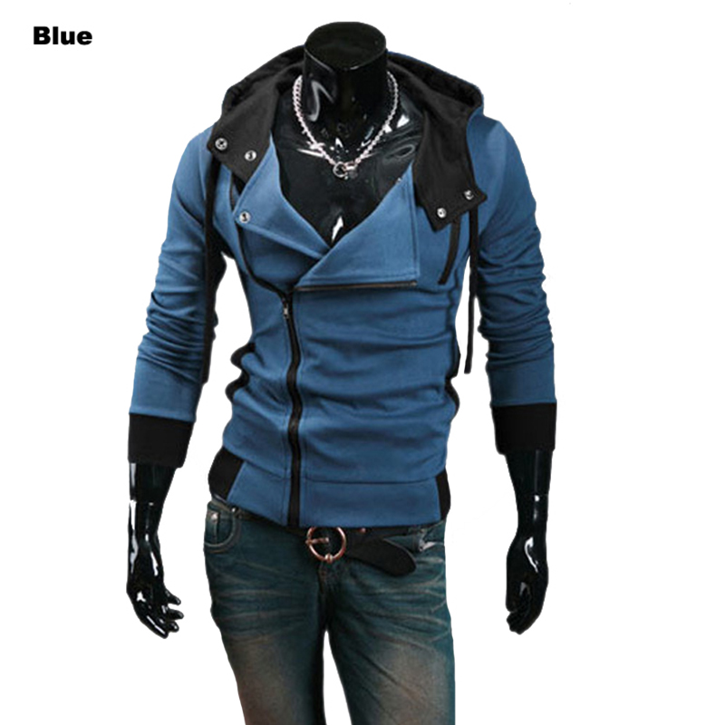 wholesale hoodies Mens Hoodie Sweatshirt Jacket Jumper Zipper Hoodie Outerwear Mens Coat M,L,XL,XXL,XXXL,XXXXLW20