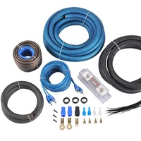 AMP WIRING KIT 0GA professional Car Amplifier Cable 0GA Car Audio Wiring Kits