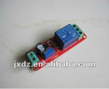 5v delay on-off relay module delay switch robot car accessories DIY necessary