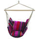 Deluxe Canvas Hammock Hanging Chair Indoor Outdoor Use