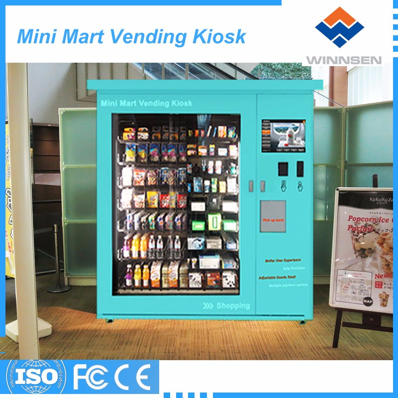 Great quality multi goods mini mart vending machine