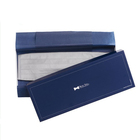 Wholesale retail logo printed cardboard tie box