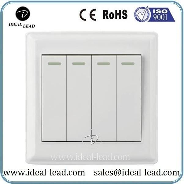 4 switch 2 control wall power switch socket