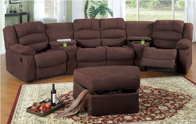Theater Reclining Sofa Sectional