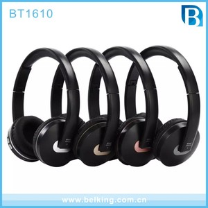 Micro Headphones Bluetooth 4.1 for Wireless Stereo Music Listening Foldable Sports Earphones