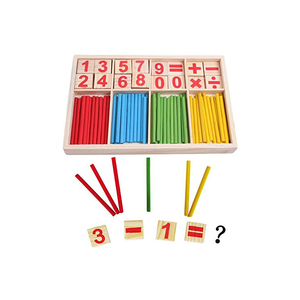 Children Educational Montessori Mathematics Wooden Math Toys For Sale