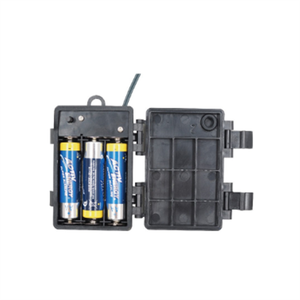 6AA waterproof battery holder, waterproof aa battery holder, with Red/Black Wire Leads, Cover and Switch