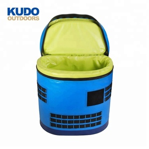 Top Selling Custom TPU Round Backpack Fishing Soft Waterproof Cooler Bag