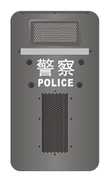police shieldTS - 300 sound barrier shield
