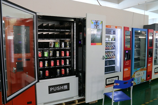 hot sale high precision customized Cash Function snacks smart Vending Machine Sales made in China