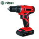 small light weight adjustable speed 18v charger cordless drill set