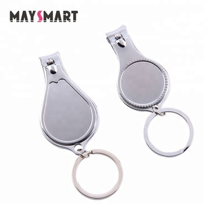 Can Print Your Logo Opener Keyring Cheap Good Quality Stainless Steel Metal Gift Nail Clipper Nail Cutter