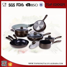 Delicate Colorful kitchen ceramic cookware set