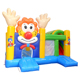 Commercial Grade Small Kids Cartoon Clown Circus Jumping Castle Inflatable Bouncer for sale