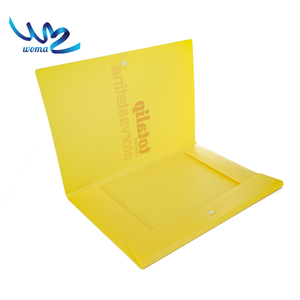 Paper printing clip file simple color office certificate folder