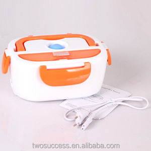 Intergrated Plastic Multi-function Electric Lunch Box With Dividers