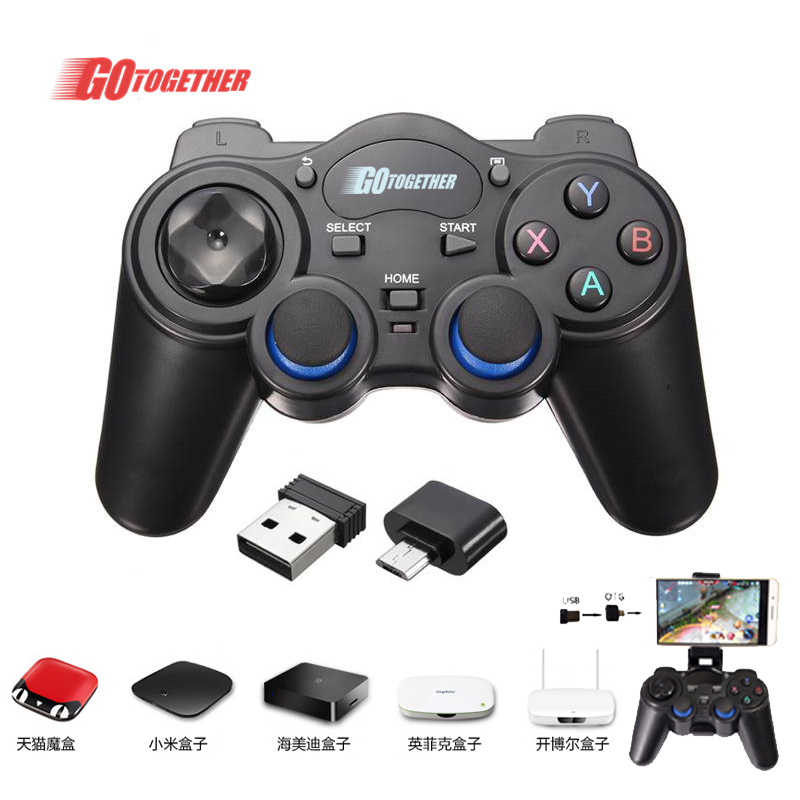 2.4G Wirless gamepad for android//PC/PS3/XBOX360