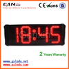 [Ganxin] Hot Sale Led Wall Clock Digit Timer with Multi-color