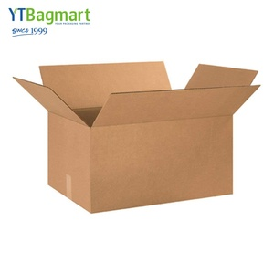 Ytbagmart Custom Moving Corrugated Box Carton Shipping Brown Kraft Paper Packaging Box