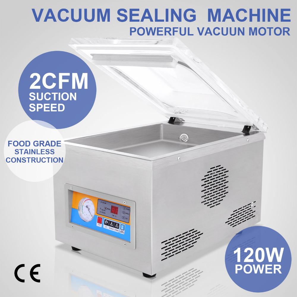 Making-Latest Model Powerful <strong>Vacuum</strong> Sealing/Packing/Packaging Machine Sealer