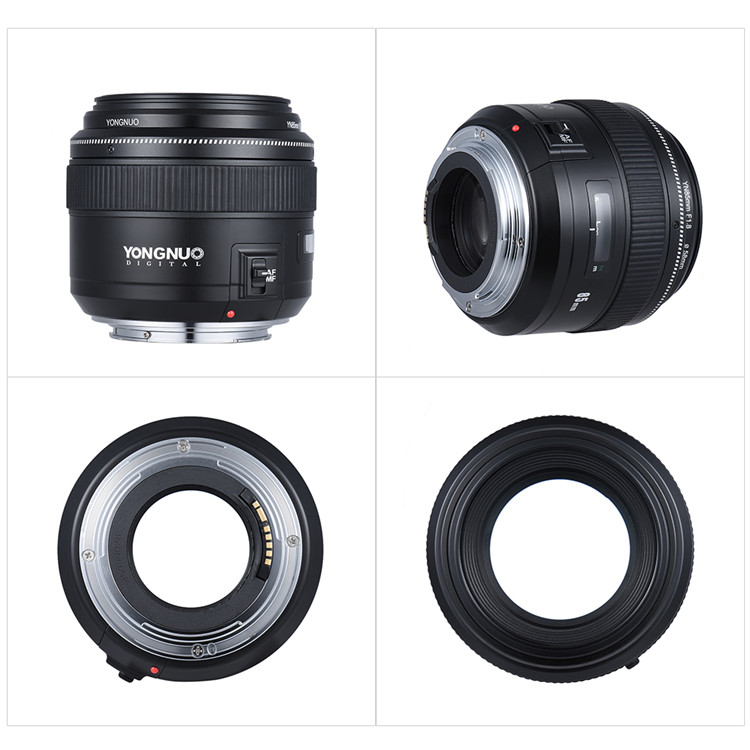 Yongnuo 85mm F1.8 Standard Medium Telephoto Prime Lens Fixed Focal ...