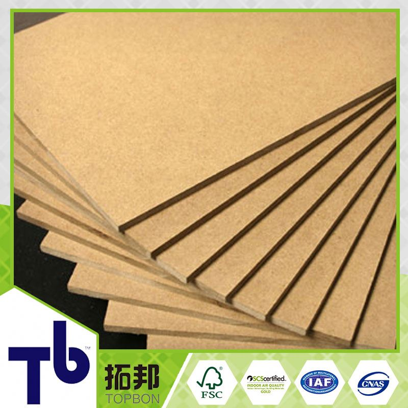 china factory cheap price plain mdf hdf