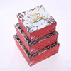 New Supply Hot Stamping Christmas Element Printing Paper Gift Box Custom,Candy Gift Box