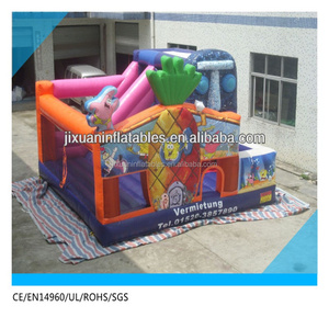 amusement park equipment/ inflatable indoor playground /inflatable fun city