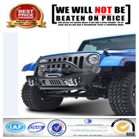 American Jeep JK Wrangler 2007-2014 standard black painting steel rear bumper with tire carrier