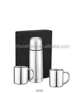 Stainless Steel Vaccum Flask Gift Set/ Coffee Mug Gift Set