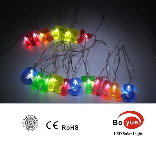 Battery Operated Led Letter Light. Led Battery Fairy Light Chain ...