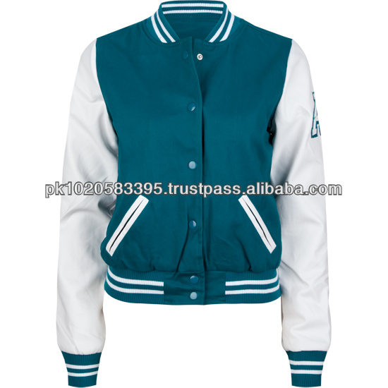 2014 New Design Pattern Women Jacket Baseball Jackets Letterman ...