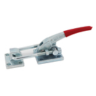 Heavy Duty GTY-40380 Steel Latch Type Toggle Clamp With Horizontal Mounting Base 3000kgs Holding Capacity