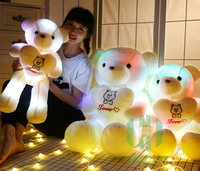 HI CE certificate Led lights san valentin led teddy bear stuffed animal