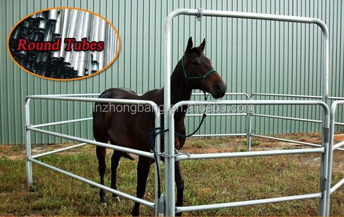 Hot Dipped Galvanized Horse Fence Panels To Build A Round Pen - Buy Cattle  Yard Fence,Cattle Yard Fence,Cattle Yard Fence Product on Alibaba com