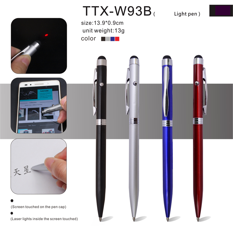 Top Quality low prices Customized Promotional metal touch ball pen