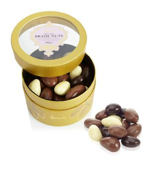 custom luxury Round chocolate gift box with a clear pvc window on the lid