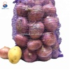 Customized 25kg pe knitted mesh onion bags for sale