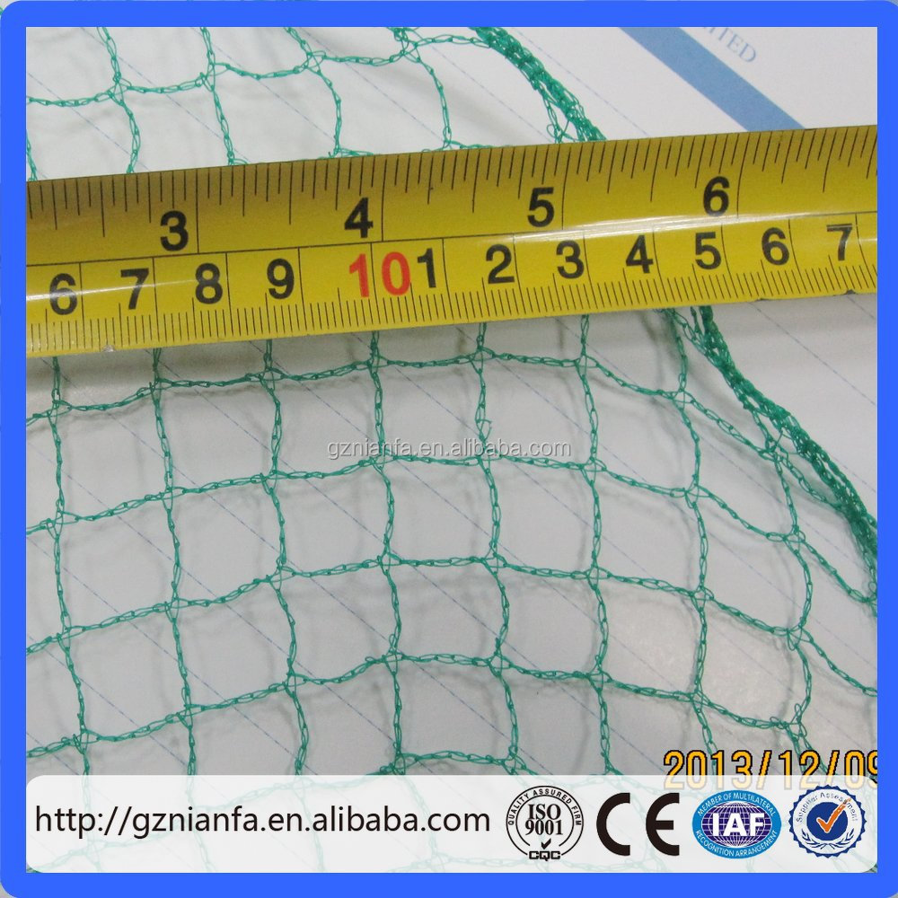 Hot sale! Economy Diamond Plastic Woven Mesh Protect Fruit Anti Bird Net(Guangzhou Factory)