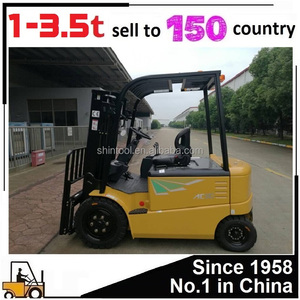 New Heli China 3 ton 2 5 ton 1 ton 1 5 ton 2 ton Small Mini Electric  Forklift Truck With Battery