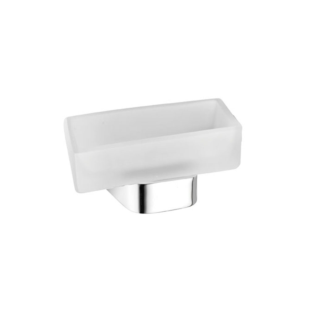 Stainless steel bathroom soap dish holders