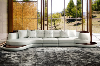 High Quality Leather Sofa Design Luxury Couch