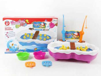 Anak Mainan Elektronik Ikan Berburu Permainan Bebek Dengan Musik ... 1063f42b0f