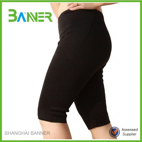 Wholesale compression slimming sauna shorts fitness pants man