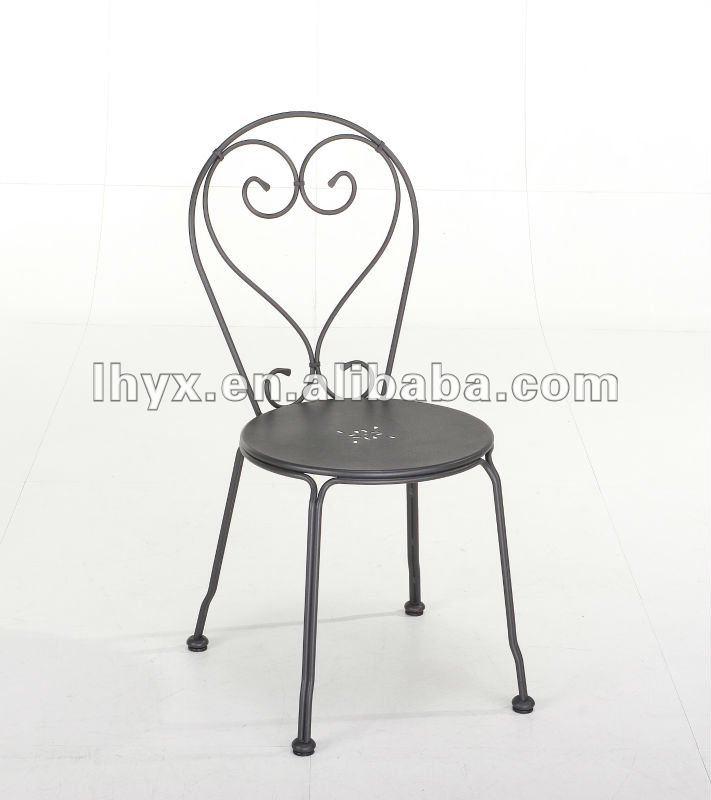 romantique m tal empilable chaise de jardin chaises en m tal id de produit 592060731 french. Black Bedroom Furniture Sets. Home Design Ideas