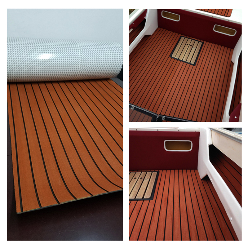 Melors Synthetic Eva Faux Teak Decking For Boats Yachts