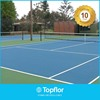 Antiskid outdoor pvc floor covering for tennis
