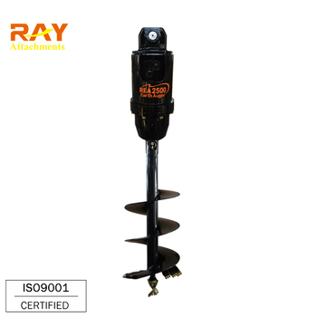 Excavator Auger Drilling Machine For Tractor / Auger For Earth Drilling -  Buy Excavator Auger Attachment,Earth Auger,Excavator Auger Drilling Product