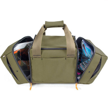 wholesale traveling duffel bags custom printed waterproof tote mens sport sneaker duffle gym travel bag